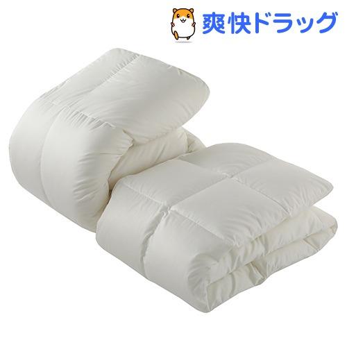 東京西川 デュエット羽毛布団 シングル ホワイト KA08986071W(2枚組)【東京西川】