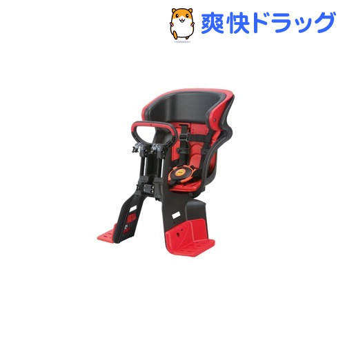 自転車用チャイルドシート 前用 子供乗せ 5点式ベルト FBC-011DX3 レッド(1台)【送料無料】