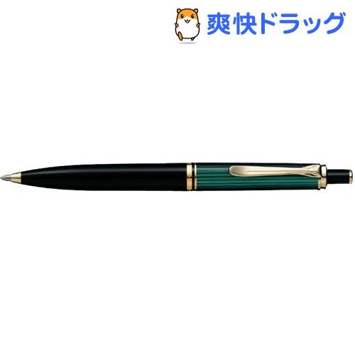 ペリカン ボールペン スーベレーン K400 緑縞(1本)