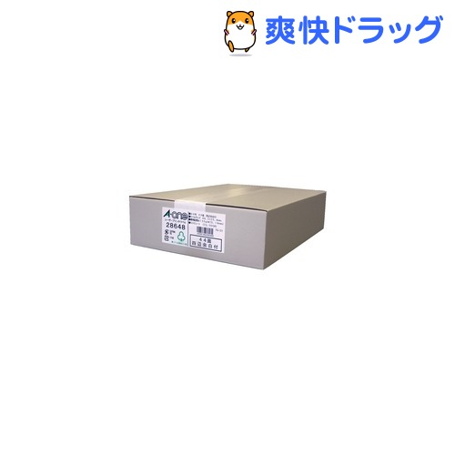 エーワン ラベルシール(レーザープリンタ) A4 44面 四辺余白付 28648(500シート)