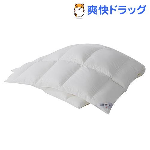 東京西川 羽毛布団 シングル 羽毛カセット 無地 ホワイト KA08007063W(1枚入)【東京西川】