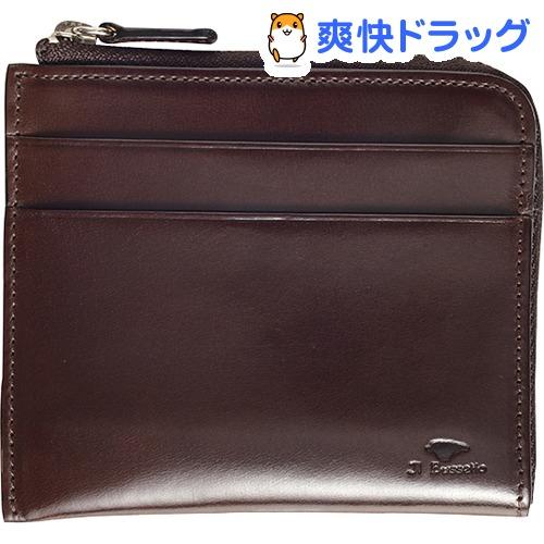 イル・ブセット L字型ジップ財布 ダークブラウン(1コ入)【Il Bussetto(イル・ブセット)】