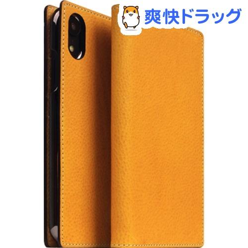 SLG iPhone XR ミネルバボックスレザーケース タン SD13680i61(1個)【SLG Design(エスエルジーデザイン)】