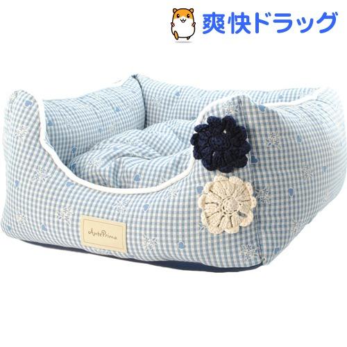 アンテプリマ アンテフラワー ベッド クッション付き M ブルー(1コ入)