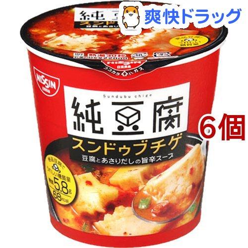 日清 純豆腐 スンドゥブチゲスープ 日清 純豆腐 スンドゥブチゲスープ(17g*6コセット)