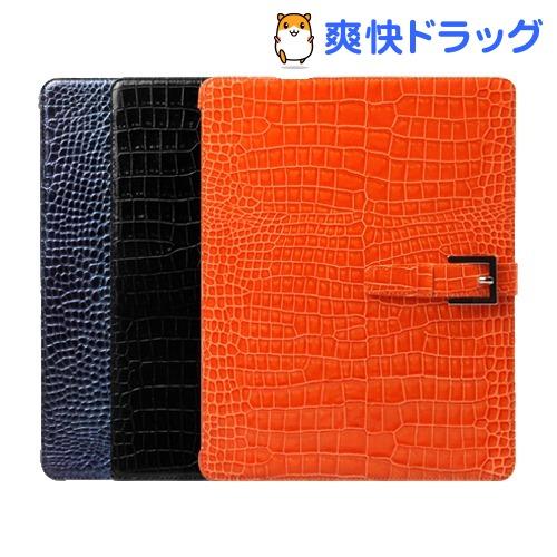 ゼヌス 新しいiPadレザーケース プレステージプリマクロコ オレンジ Z978NiPD(1コ入)【ゼヌス】