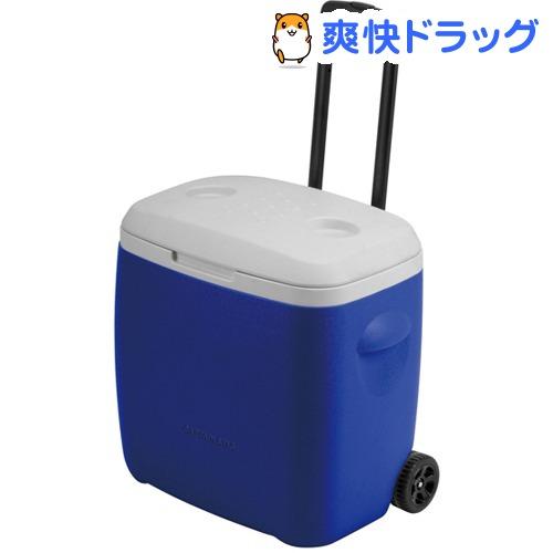 キャプテンスタッグ リガード ホイールクーラー 28L ブルー M-5281(1コ入)【キャプテンスタッグ】[クーラーボックス]