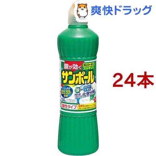 激安☆超特価 サンポール トイレ洗剤 限定タイムセール 尿石除去 塩酸9.5% 500ml 24本セット