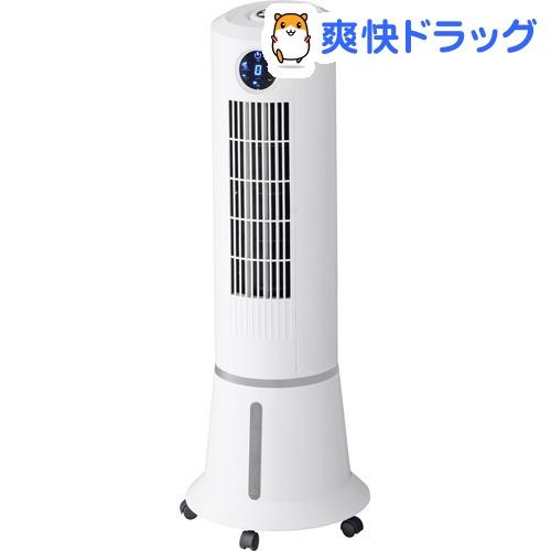 スリムタワー冷風扇 ウォータークールファン ホワイト(1台)【スリーアップ】