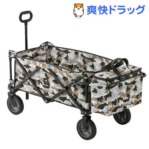 ロゴス 丸洗いスマートキャリー with クーラーバッグ カモフラ(1台)【ロゴス(LOGOS)】