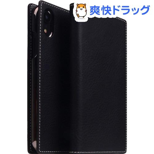 SLG iPhone XR ミネルバボックスレザーケース ブラック SD13684i61(1個)【SLG Design(エスエルジーデザイン)】