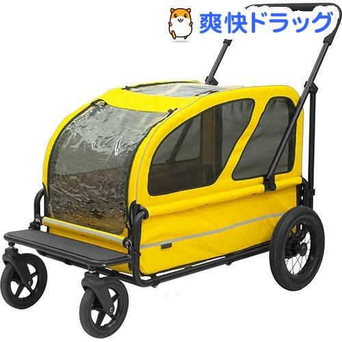エアバギーフォードッグ AD CARRIAGE SET スマイルイエロー(1台)【AIRBUGGY FOR PET】