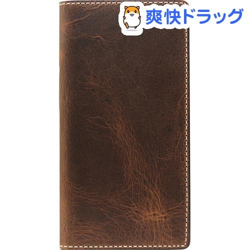 SLG Design iPhone6s PLus/6 PLus バダラッシワックスケース ブラウン SD7086i6SP(1コ入)【SLG Design(エスエルジーデザイン)】