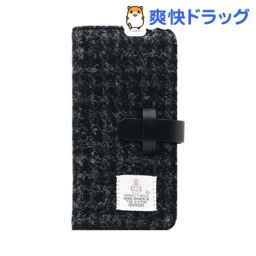 エスエルジーデザイン iPhone6s/6 ハリスツイードダイアリー ブラック SD7286i6S(1コ入)【SLG Design(エスエルジーデザイン)】
