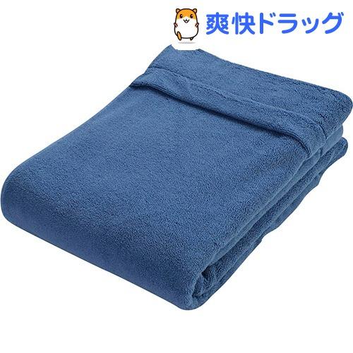 京都西川 タオルケット シングル 1-KP-10000 ネイビー(1枚入)【京都西川】【送料無料】