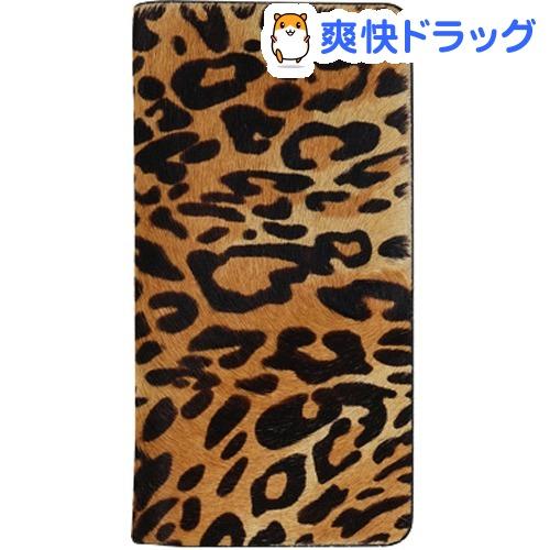 ゲイズ iPhone XS/X レオパードカーフダイアリー GZ13468i58(1コ入)【ゲイズ】