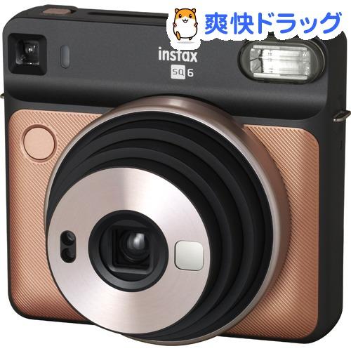 富士フイルム インスタントカメラ instax SQUARE SQ6 ブラッシュゴールド(1台)【フジフイルム】