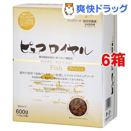 ピュアロイヤル フィッシュ(600g*6コセット)【ピュアロイヤル】