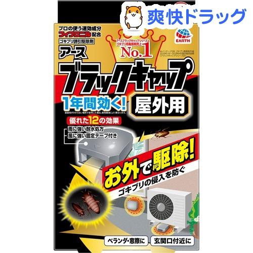 オリジナル ブラックキャップ 屋外用 ゴキブリ駆除剤 8コ入 プレゼント