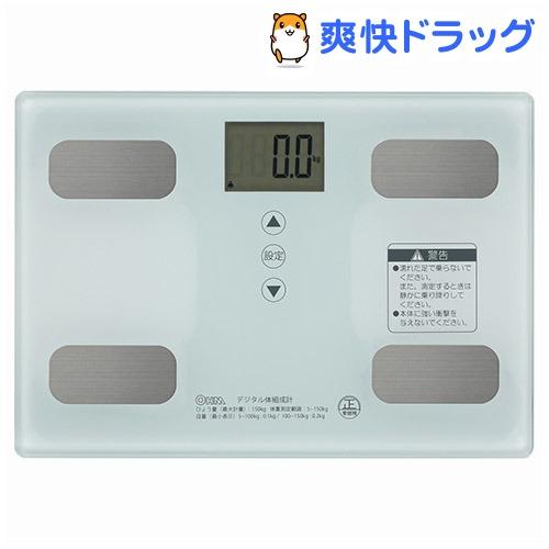 ストア 超定番 体重体組成計 ホワイト 1台 HB-KG11R1-W