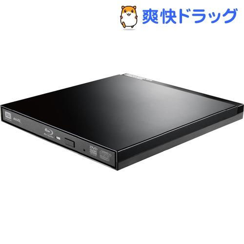 エレコム UHDBDドライブ搭載USB3.0ポータブルブルーレイ ブラック LBD-PUD6U3LBK(1台)【エレコム(ELECOM)】