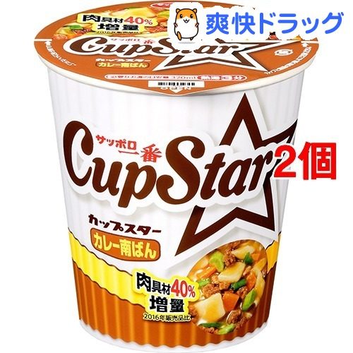 札幌第一名茶杯明星咖喱南面ban(1个入*12共安排)[方便面]