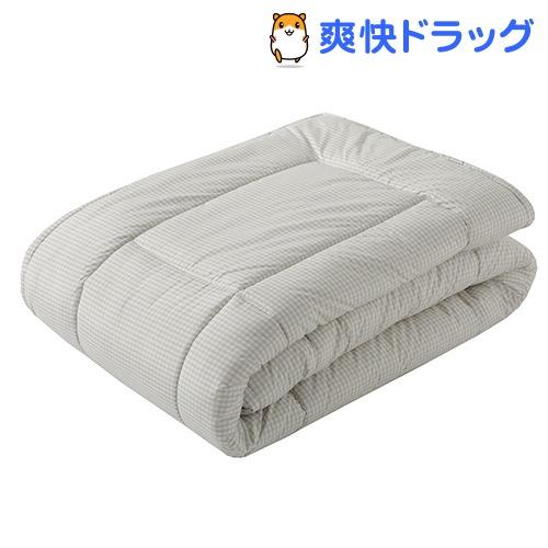 肌掛け布団 シングル アレルギー対策 防ダニ ホコリを通さない ベージュ AE08200007BE(1枚入)【東京西川】