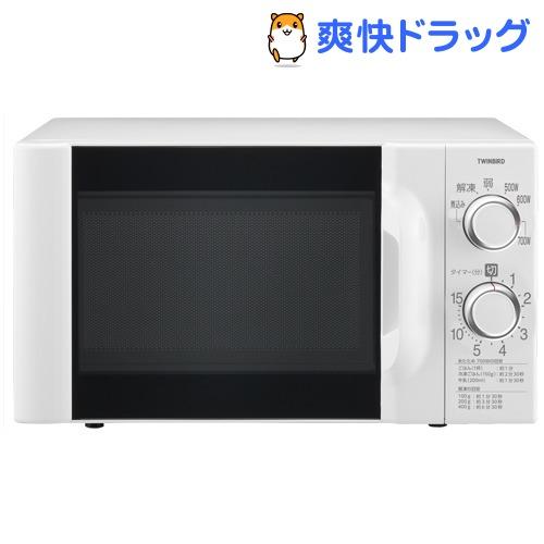 ツインバード 電子レンジ DR-D419W6 60Hz専用 ホワイト(1台)【ツインバード(TWINBIRD)】