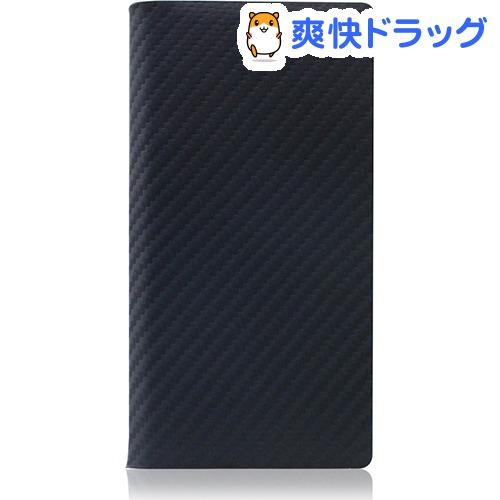 SLGデザイン iPhone7 カーボンレザーケース ブラック SD8093i7(1コ入)【SLG Design(エスエルジーデザイン)】
