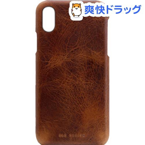 SLG iPhone XR バダラッシーワックスバーケース ブラウン SD13693i61(1個)【SLG Design(エスエルジーデザイン)】