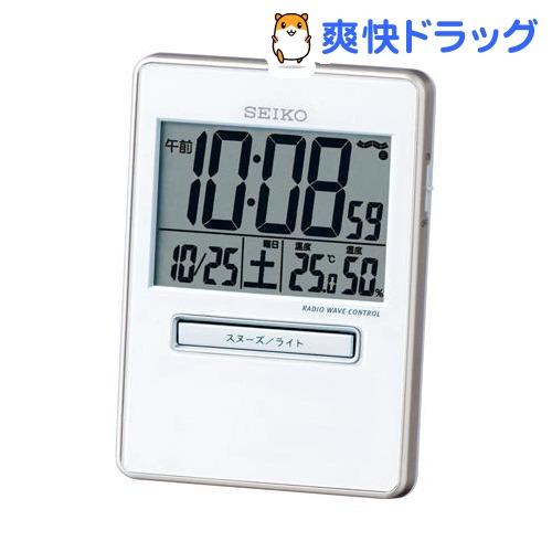 セイコー 電波目覚まし時計 激安通販専門店 トラベラ 1台 (訳ありセール 格安) SQ699W
