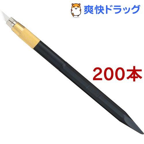 オルファ デザイナーズナイフ ブラック 216BBK(200本セット)【オルファ】