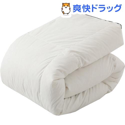東京西川 羽毛合掛ふとん ホワイト セミダブル KA17210593W(1枚)【東京西川】
