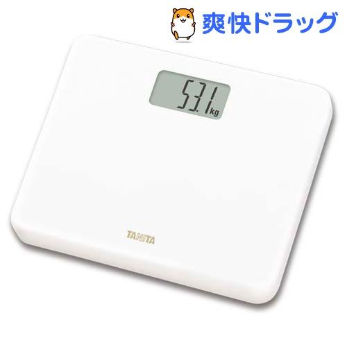 タニタ TANITA デジタルヘルスメーター ホワイト 送料無料 1台 信頼 HD-660-WH