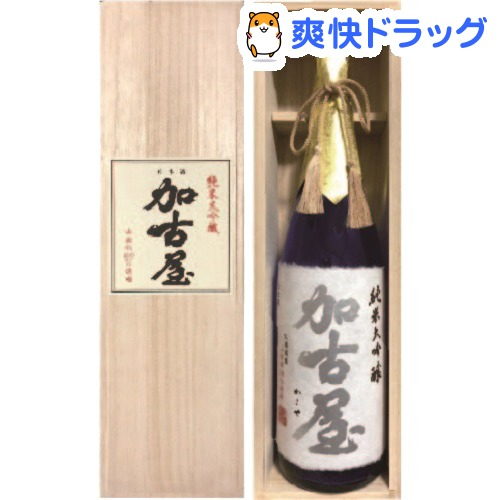 但馬地酒 純米大吟醸 加古屋(1800ml)
