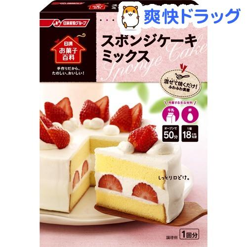 日清把点心百科全书海棉蛋糕混在一起(200g)[对手制的点心]