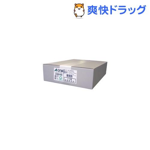 エーワン ラベルシール(レーザープリンタ) A4 24面 四辺余白付 28649(500シート)