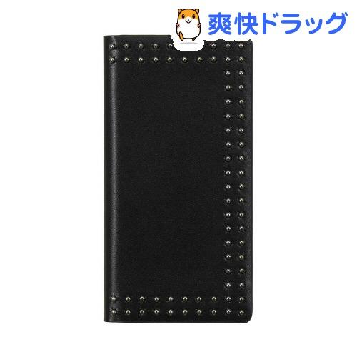 エブルイ iPhone8/7 ドットスタッズダイアリー ブラック EB9897i7(1コ入)
