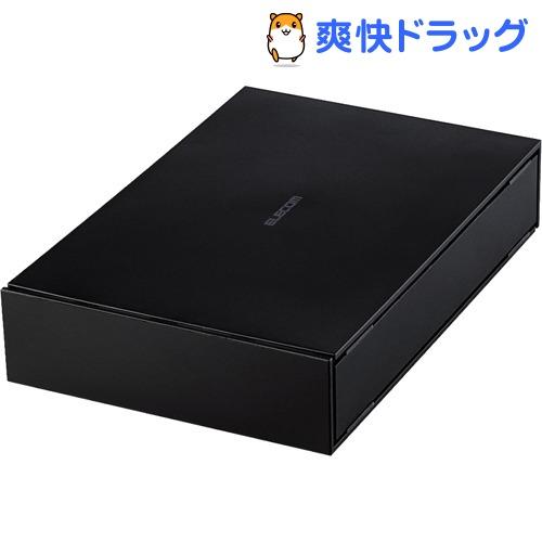 エレコム ハードディスク 外付け USB3.0 1TB ブラック ELD-ETV010UBK(1個)【エレコム(ELECOM)】