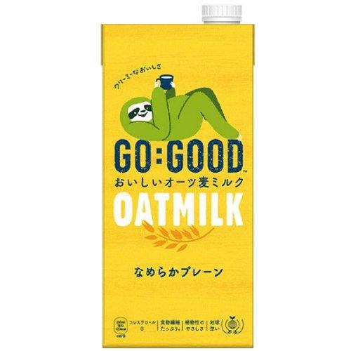 GO:GOOD おいしいオーツ麦ミルク なめらかプレーン お歳暮 6本入 1000ml 初売り