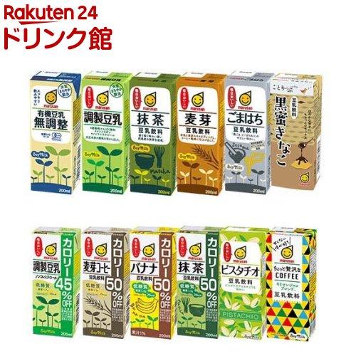 メーカー直送 ◆セール特価品◆ マルサンアイ 豆乳 24本入 200ml