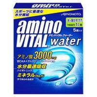【10000円以上で本州・四国送料無料】味の素 amino VITAL アミノバイタル ウォーター 29.4g×5包 1L用 * 20セット