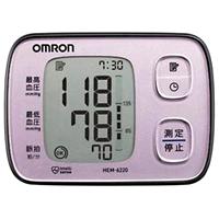 【取り寄せ商品:納期1~2週間】OMRON オムロン 自動血圧計 HEM-6220-PK ピンク [オムロンヘルスケア]