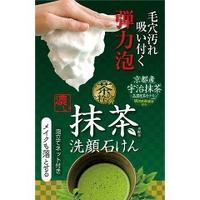 茶的精华浓的抹茶清洗面孔肥皂M 100g[化妆品纺绩品乐兰]