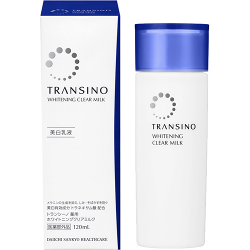 Transit no medicinal whitening clear milk 120 ml [13 common health care transino]