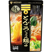 Mizkan hawfinch delicious pork hang NABE soup base soy sauce straight 750 g
