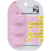 中林动物磁铁猪AMG-F01PI 6个装