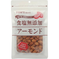 TON'S素烧坚果食盐不添加杏仁大袋180g[东洋坚果食品TON'S]
