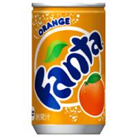 コカ・コーラ ファンタ Fanta オレンジ 160g缶 *120個(4ケース)