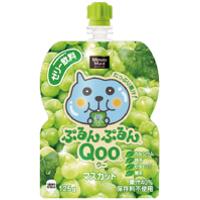 コカ・コーラ ミニッツメイド ぷるんぷるんQoo(クー) マスカット味125gパウチ *120個(4ケース)